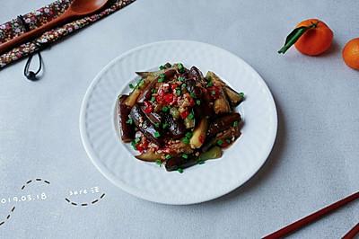 姜蒜剁椒酱油茄