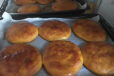南瓜发面烤饼(烤箱版)