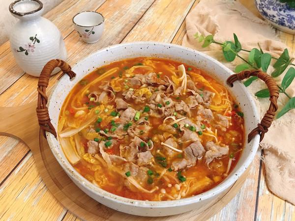 金针菇番茄肥牛卷的做法