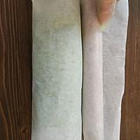#柏翠辅食节_烘焙零食#抹茶蜜豆毛巾卷的做法图解21