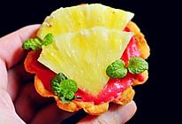 迷你菠萝奶油树莓挞的做法