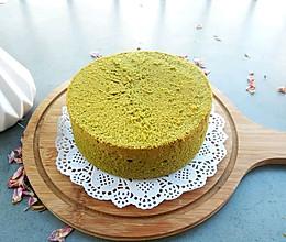 抹茶6寸戚风蛋糕的做法
