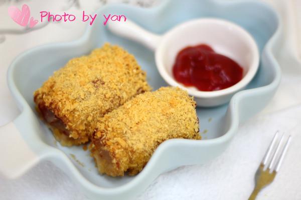 烤箱菜-桑拿培根卷