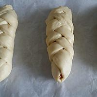 营养早餐  花式夹心面包   (芝士肠 果酱 肉松三种口味)的做法图解8
