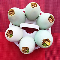 冬季的美味—蛋壳里孵出的腊味饭的做法图解13