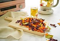 #精品菜谱挑战赛# 烤蔬菜脆片配英式水果茶的做法