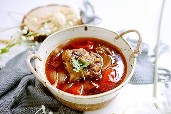 红酒番茄牛尾汤——老板电器中式新品蒸箱S228食谱的做法