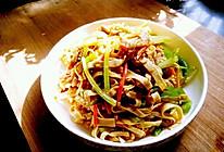 小炒豆腐皮的做法