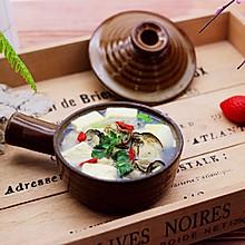 #精品菜谱挑战赛#烟台的海蛎子豆腐汤