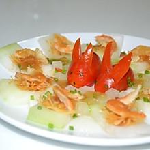 冬瓜瑶柱蒸虾米