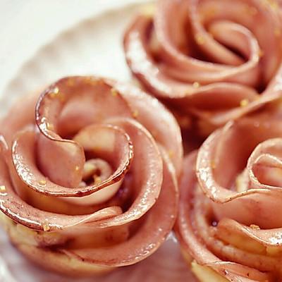 玫瑰苹果塔