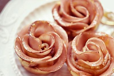 玫瑰蘋果塔