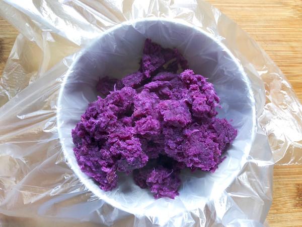 紫薯酸奶麦片