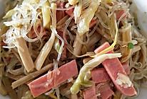 黄花菜炒粉丝的做法
