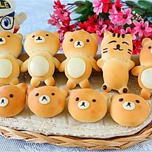 儿童节的小熊面包
