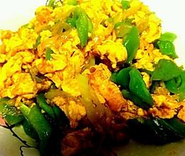 大酱炒鸡蛋的做法