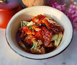 #我们约饭吧#花菜五花肉的做法