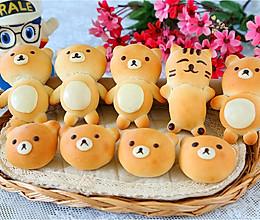 儿童节的小熊面包的做法