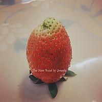 草莓玫瑰的做法图解2