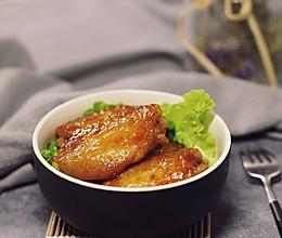 蜜汁烤鸡翅的做法
