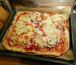 烤比萨的做法