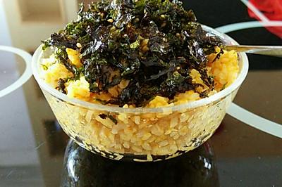 海苔咖喱蛋炒饭