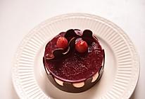 树莓冷凝芝士蛋糕#我动了你的奶酪#的做法