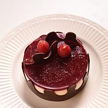 树莓冷凝芝士蛋糕#我动了你的奶酪#