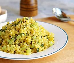 #快手又营养,我家的冬日必备菜品#黄金蛋炒饭简易版的做法