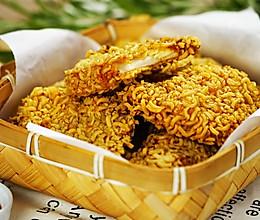 火鸡面炸鸡排,黄金酥脆口感好的做法