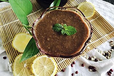红豆汤薏米糊