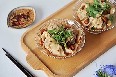 凉拌馄饨(韭菜虾爬鲜肉馄饨)