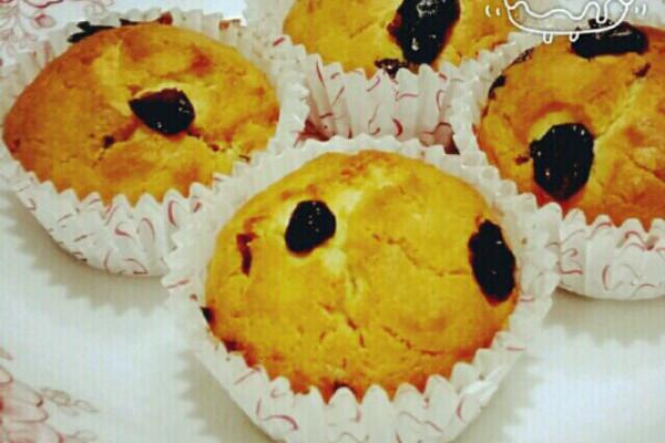 蔓越莓麦芬蛋糕(零失败)的做法