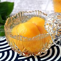 黄桃罐头的做法图解5