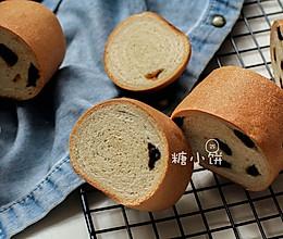 【葡萄干木材面包】的做法