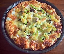 9寸超级至尊披萨的做法