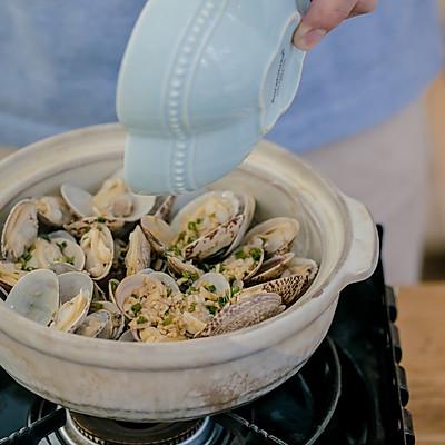 蛤蜊粉丝煲的做法 步骤11