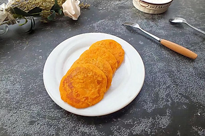 糯米红薯饼