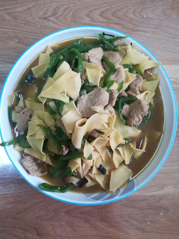 尖椒干豆腐的做法