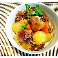 黑椒鸡腿烧土豆的做法图解13