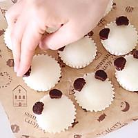 QQ软软熊猫宝宝蒸米糕,宝宝最爱营养早餐的做法图解10