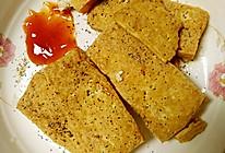 黑椒豆腐片的做法