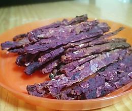 紫薯麦片磨牙【出牙宝宝】的做法