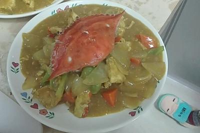 咖喱蟹(小马哥版)