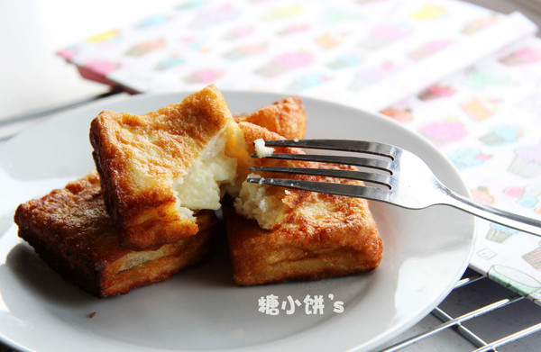 【奶酪夹心西多士】法式土司和法式乳酪的搭配的做法
