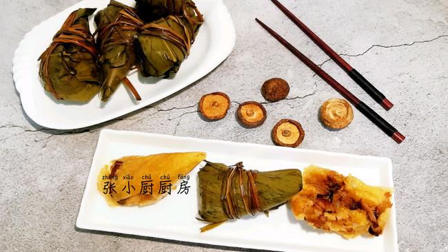 香菇虾米咸肉粽的做法