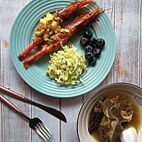 #夏日撩人滋味#香烤阿根廷红虾的做法图解9