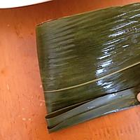 闹端午!碱水红豆粽(新手四角包法)的做法图解12