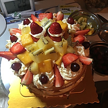 水果裸蛋糕