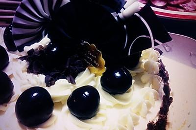 第一篇菜谱----蒸桑拿的黑森林芝士蛋糕